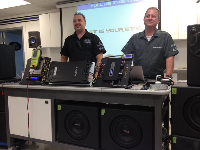 Mobile Edge Attends Audison Full DA Training in Phoenix, AZ