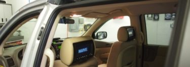 Allentown Client Gets a Set of 7″ Video Screen Headrest Replacements in 2014 Kia