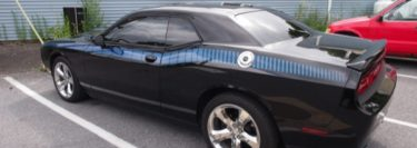 Dodge Challenger Window Tint Project for Lehigh Valley Client