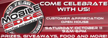20th Anniversary Customer Appreciation Open House