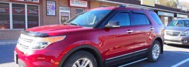 Styled and Functional Running Boards for 2015 Explorer of Lehighton