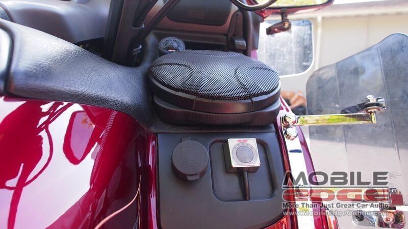 Goldwing Trike Audio System