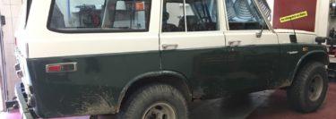 Classic Toyota Land Cruiser Audio System Upgrade For Lehighton Client