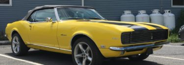 1968 Camaro RS DroneMobile Protection for Classic Restoration