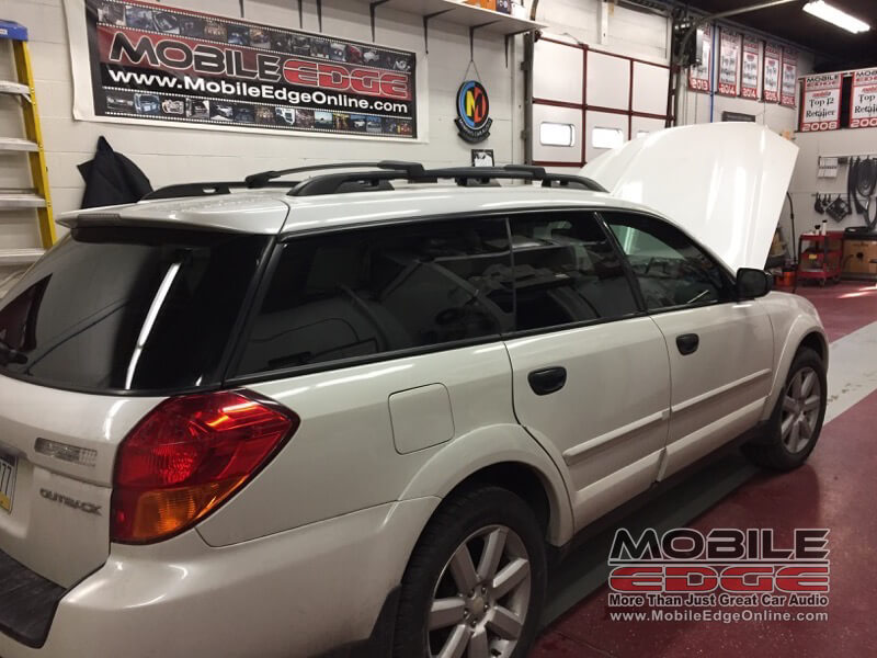 Summit Hill Client Gets Subaru Outback Tint and Audio Upgrades