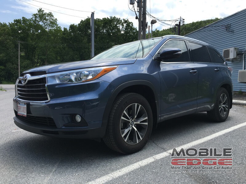 Toyota Highlander Audio