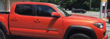 Toyota Tacoma Window Tint for Jim Thorpe-Based Client