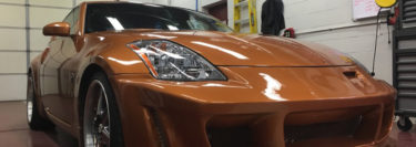 Tamaqua Client Comes to Mobile Edge for Nissan 350Z Stereo Upgrade