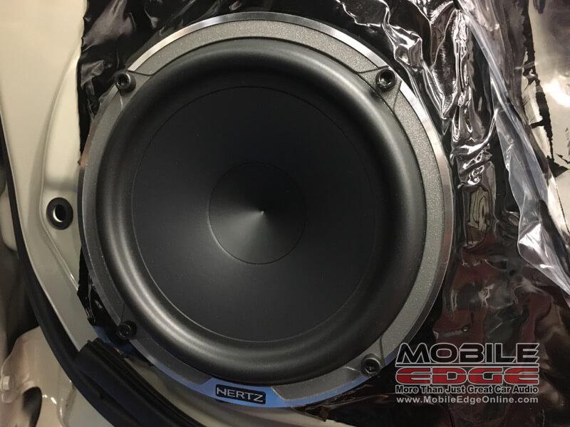 Hertz Speaker Upgrade Subaru Crosstrek Remote Starter