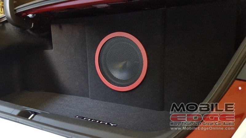 Toyota Camry Bass Upgrade for Milford Client