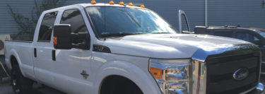 Northampton Ford F-350 Stereo System: Stage 1