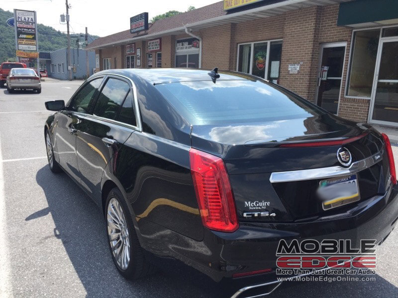 Anrdreas Client Chooses 3M Color Stable Cadillac CTS Window Tint