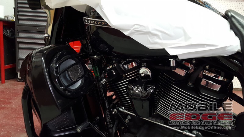 Harley Davidson Road King Special Audio System For Jim Thorpe Client