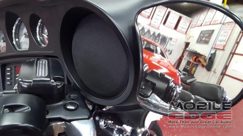 Wilkes-Barre Client Upgrades Harley Davidson Street Glide Audio