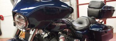 Wilkes-Barre Client Upgrades Harley-Davidson Street Glide Audio