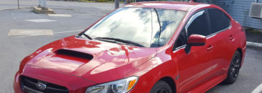 Lehighton Client Adds Window Tint and Starter System to Subaru WRX