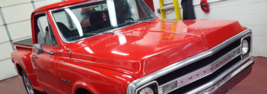 Classic Chevy C10 Center Console for Tamaqua Client