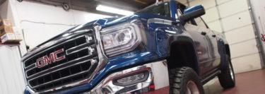 PowerStep Motorized Side Steps for Danielsville Client's GMC Sierra