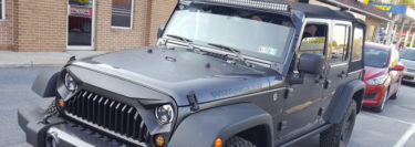 Lake Ariel Client Chooses Jeep Wrangler Styling Upgrades