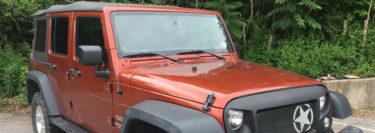 Jeep Wrangler Radio Upgrade for Nesquehoning Client