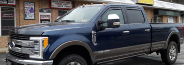 Custom Radar System and Audio Upgrade for Kempton Ford F-350