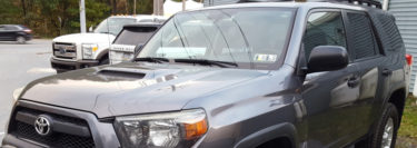 Repeat Mountain Top Client Adds LED Light Bar to 2010 Toyota 4Runner