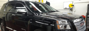 Repeat Palmerton Client Brings 2016 GMC Terrain in for Window Tint