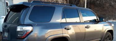 Client from Elizabethville Gets Ultimate Privacy on 2016 Toyota 4Runner