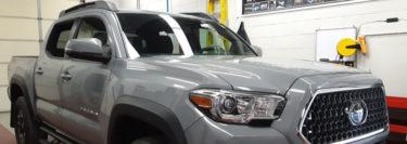 2018 Toyota Tacoma from Hazelton Gets Upgraded with 3M Window Tint
