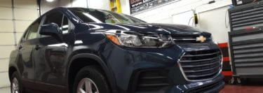 Jim Thorpe Client Improves Appearance of Chevy Trax with 3M Film