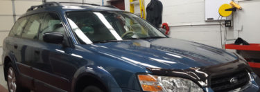 Palmerton Client Upgrades 2006 Subaru Outback with Sony Audio
