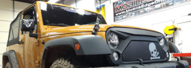 3M Color Stable Tint Enhances 2014 Jeep Wrangler When Offroad