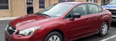 2016 Subaru Impreza from Walnutport Gets a Compustar Remote Start