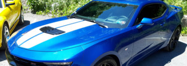 Beautiful Blue 2019 Chevrolet Camaro Gets 3M Color Stable Window Tint