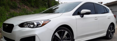 2019 Subaru Impreza Sport Gets 3M Color Stable Tint Upgrade