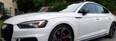 Sciota Client Upgrades 2019 Audi RS5 with 3M Window Tint