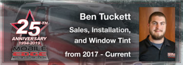 Ben Tuckett:  A Young Man With a Strong Work Ethic and Desire to Learn