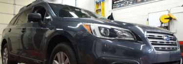 Tamaqua Client Gets Sound Upgrade in 2015 Subaru Outback