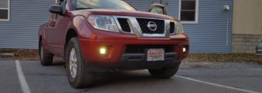 Rigid LED Lights Improve Visibility for 2014 Nissan Frontier