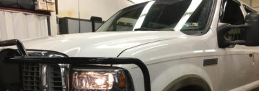 New Headlights and Fog Lights Refresh the Front of 2001 Ford Excursion