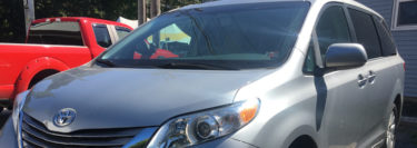 Pioneer Radio Upgrade Adds New Technology to 2015 Toyota Sienna Van
