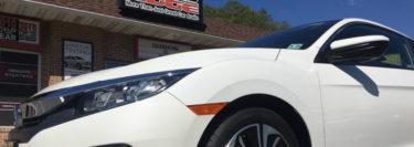 Push-to-Start Manual Transmission 2018 Honda Civic Gets Remote Start