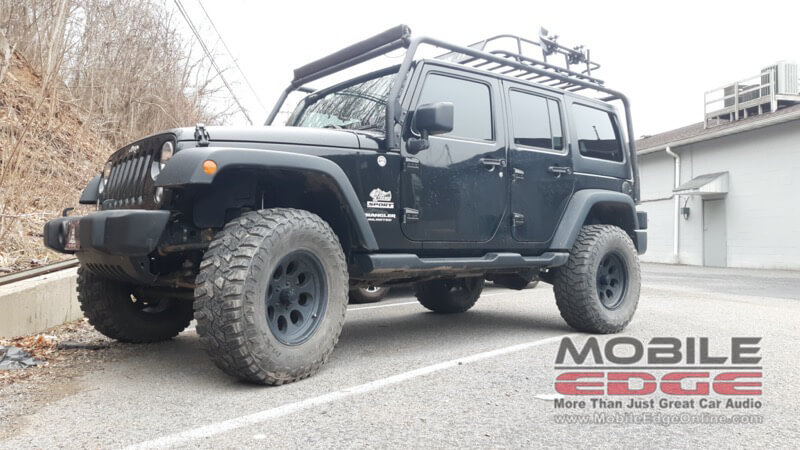 2015 Jeep Wrangler Gets 3m Color Stable Window Film Upgrade