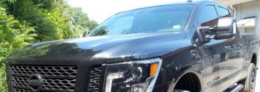 3M FX Premium Window Tint Upgrade for 2019 Nissan Titan