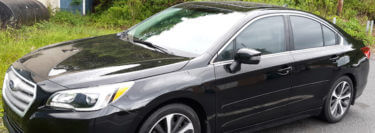 3M Color Stable Window Tint Upgrade Sets 2018 Subaru Legacy Apart