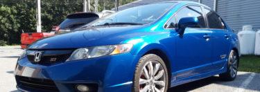 2011 Honda Civic from Blandon Gets 3M Ceramic IR Window Tint Upgrade
