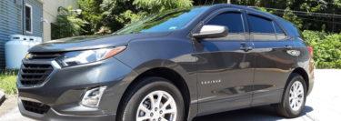 3M Ceramic IR Window Tint Adds Protection to 2018 Chevrolet Equinox