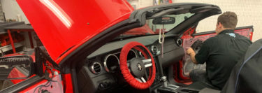 Radio and Backup Camera Upgrade Adds New Technology to 2005 Ford Mustang