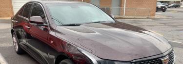 New 2020 Cadillac CT4 Gets Ceramic Window Tint Upgrade