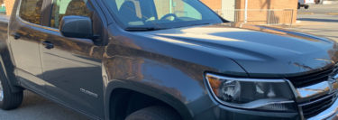 Bed Cover and Vent Visors Protect 2015 Chevrolet Colorado